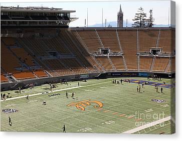 Cal Golden Bears California Memorial Stadium Berkeley California 5d24707 Canvas Print