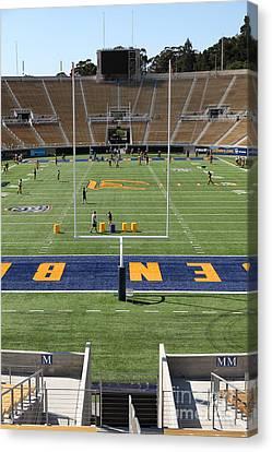 Cal Golden Bears California Memorial Stadium Berkeley California 5d24711 Canvas Print