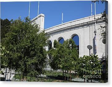Cal Golden Bears California Memorial Stadium Berkeley California 5d24733 Canvas Print