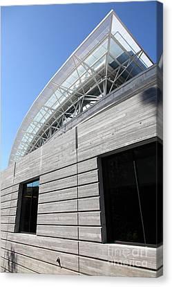 Cal Golden Bears California Memorial Stadium Berkeley California 5d24756 Canvas Print by Wingsdomain Art and Photography