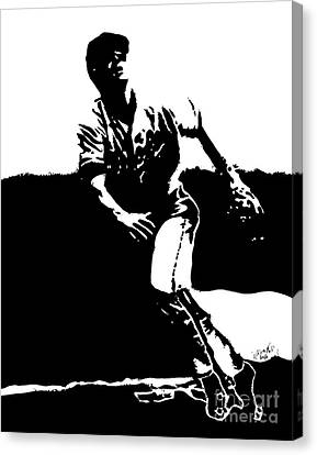 Orioles Canvas Print - Cal Ripken Jr. Drawing by Rob Monte