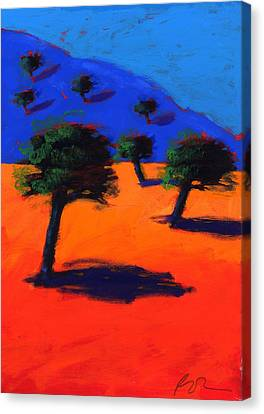 Bold Colors Canvas Print - Cala Lena by Paul Powis