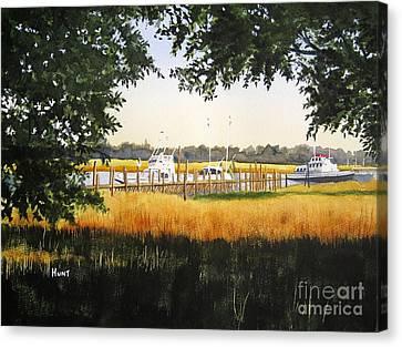 Calabash Pier Canvas Print