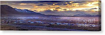 Calafate Panoramic Canvas Print