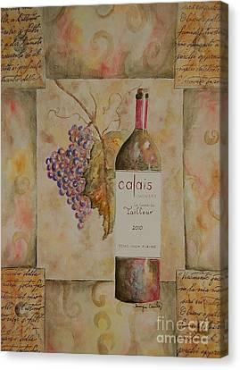 Calais Vineyard Canvas Print by Tamyra Crossley