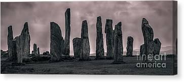 Stonehenge Canvas Print - Calanais by Matt  Trimble