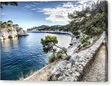 Calanque De Port Miou, France Canvas Print