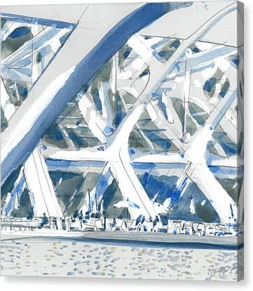 Calatrava 2 Canvas Print by Olga Sorokina