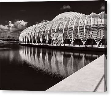 Calatrava 7 Canvas Print by Gordon Engebretson