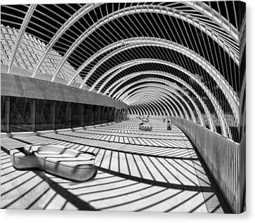 Calatrava 8 Canvas Print by Gordon Engebretson