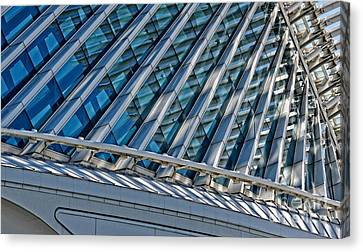 Calatrava In The Morning Canvas Print by Mary Machare