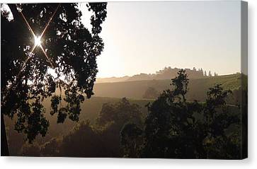 Shawn Marlow Canvas Print - Cali Sun Set by Shawn Marlow