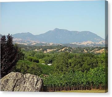 Shawn Marlow Canvas Print - Cali View by Shawn Marlow