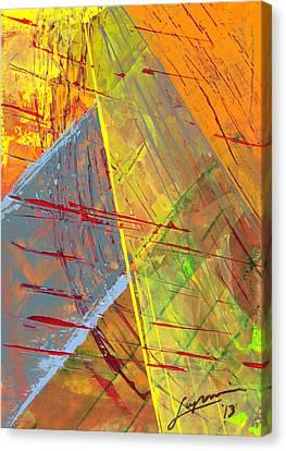 Calico Canvas Print