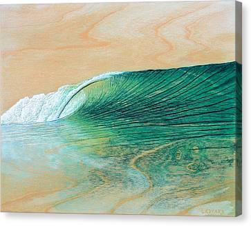California Afternoon Canvas Print by Nathan Ledyard