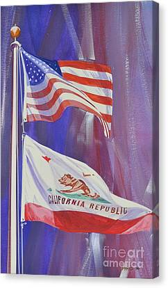 Democrats Canvas Print - California Baby by Marco Ippaso