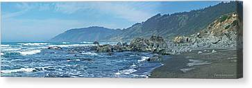California Beaches 3 Canvas Print