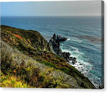 California - Big Sur 005 Canvas Print by Lance Vaughn