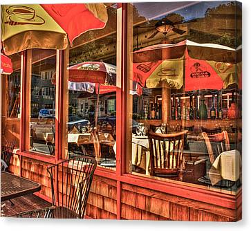 Sausalito Canvas Print - California Cantina by Ken Cave