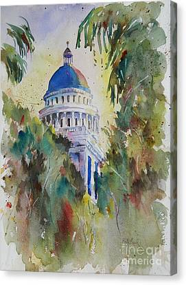 California Capitol Building Canvas Print