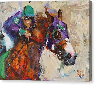 California Chrome Canvas Print by Ron and Metro