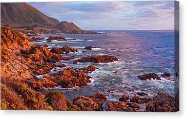 California Coast Canvas Print by Michael Pickett