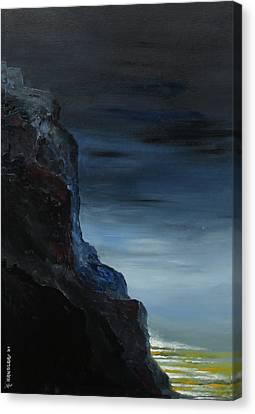 California Coastal Evening Canvas Print