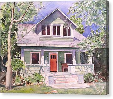 California Craftsman Cottage Canvas Print