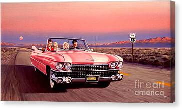 California Dreamin' Canvas Print by Michael Swanson