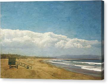 California Dreaming Canvas Print by Kim Hojnacki