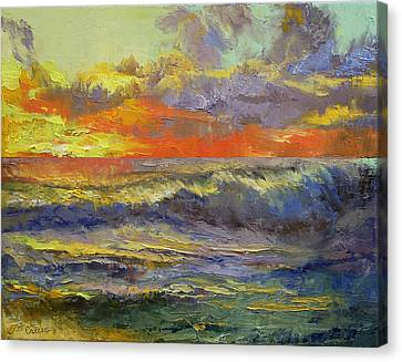 Storm Canvas Print - California Dreaming by Michael Creese