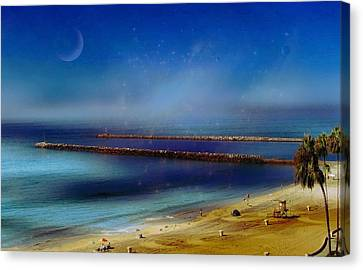 California Dreaming Canvas Print by Tammy Espino