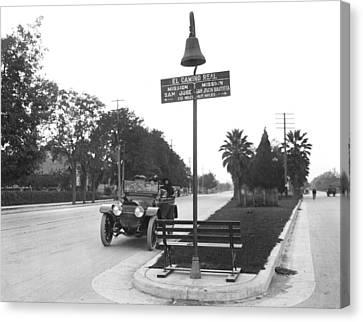 California El Camino Highway Canvas Print