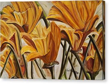 California Gold Canvas Print