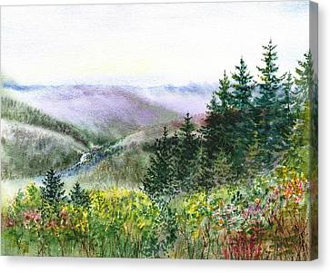 Redwood Creek National Park Canvas Print by Irina Sztukowski