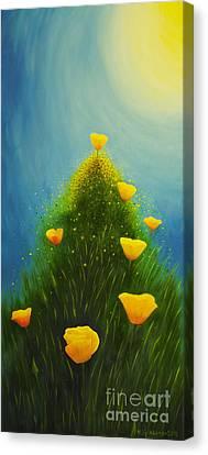 California Poppies Canvas Print by Veikko Suikkanen