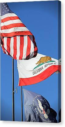 California Republic - Mike Hope Canvas Print
