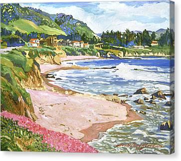 California Shores Canvas Print by David Lloyd Glover