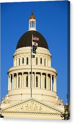 California State Capitol Building Canvas Print by Panoramic Images