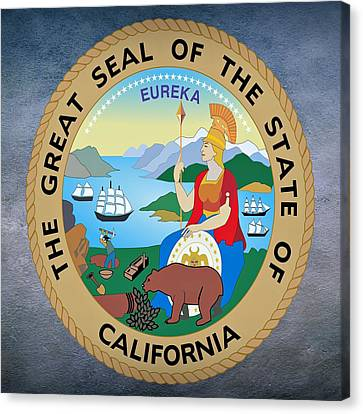 California State Seal Canvas Print