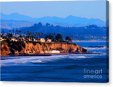 California Sunset - Pismo Beach Canvas Print by Tap On Photo