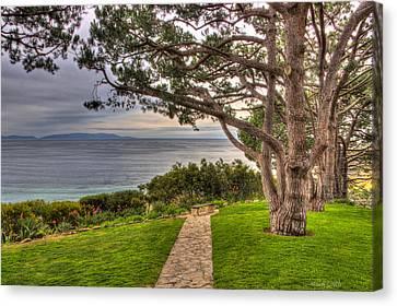Palos Verdes Cove Canvas Print - California Tranquility by Heidi Smith