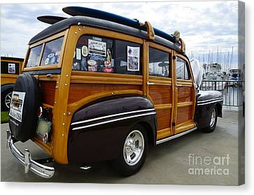 California Woodie 2 Canvas Print by Bob Christopher