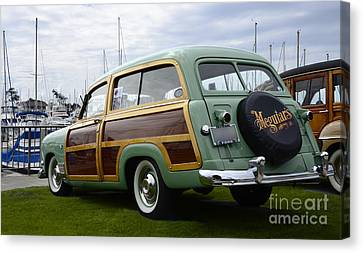 California Woodie 3 Canvas Print by Bob Christopher