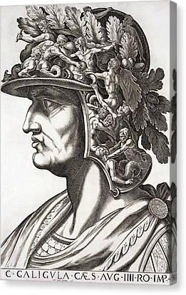 Caligula Caesar , 1596 Canvas Print by Italian School