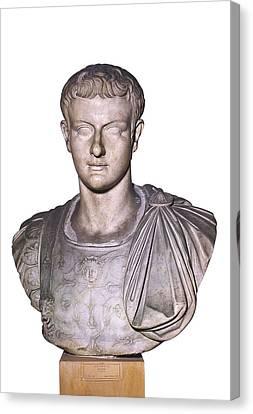 Caligula, Gaius Caesar Germanicus Canvas Print by Everett