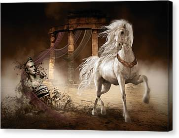 Caligula's Horse Canvas Print