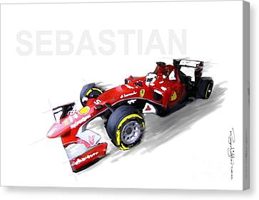 Call Me Sebastian Canvas Print
