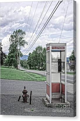 Call Me When You Get There Canvas Print by Edward Fielding