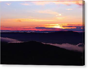 Call Of The Mountains Canvas Print by Rachel Cohen